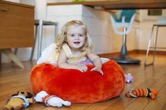 Boon ANIMAL BAG Stuffed animal Storage Tangerine