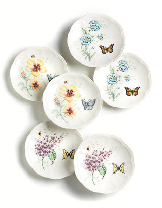 Lenox Butterfly Meadow Party Plates - Set of 6