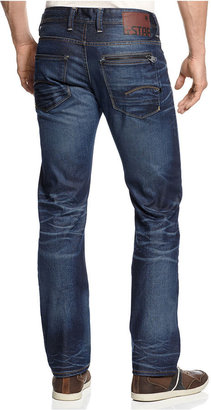 G Star G-Star Jeans, Straight-Leg Faded
