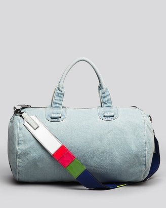 Meredith Wendell Satchel - Large Duffel Washed Denim