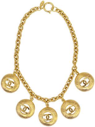 WGACA Vintage Chanel Circle Link Necklace