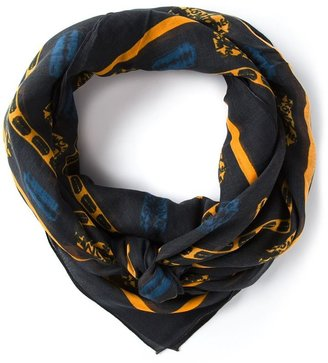 McQ by Alexander McQueen razor blade scarf