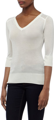 Reiss Manta MICRO MODAL V-NECK TOP