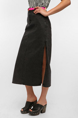 Cheap Monday Avery Denim Maxi Skirt