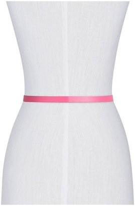 Kate Spade Skinny Pyramid Bow Belt