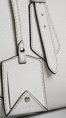 Burberry Medium Grainy Leather Tote Bag
