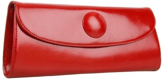Hobo Eden Button (Red Venice Leather) - Bags and Luggage