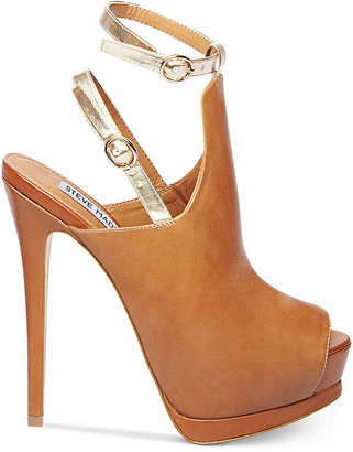 Steve Madden Women's Wexlerr Ankle Wrap Platform Sandals