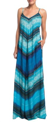 Twelfth St. By Cynthia Vincent BY CYNTHIA VINCENT Printed Maxi Dress