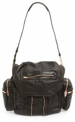 Alexander Wang 'Marti - Rose Gold' Leather Backpack