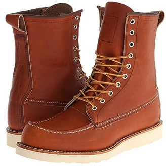 Red Wing Shoes 8 Moc Toe (Oro-Legacy) Men's Boots
