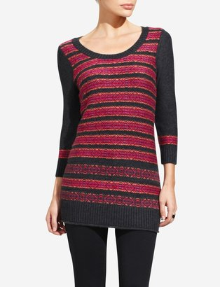 The Limited Fair Isle Tunic Sweater