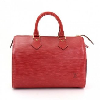 Louis Vuitton excellent (EX Speedy 25 City Red Epi Leather Hand Bag