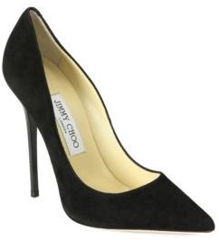 Jimmy Choo Anouk Suede Pumps