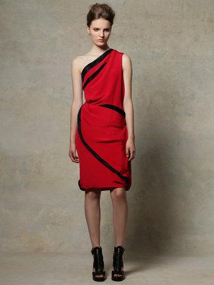 Prabal Gurung One shoulder draped dress