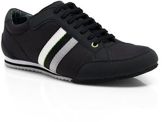 HUGO BOSS 'Victoire Ohio' | Leather and Nubuck Sneaker by BOSS Green