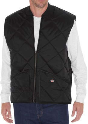 Dickies Men's Diamond-Quilted Nylon Vest