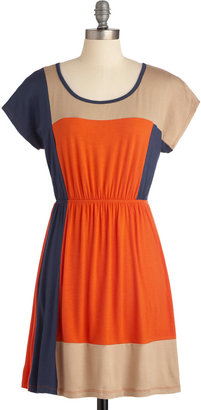 Complementary Colorblock Dress