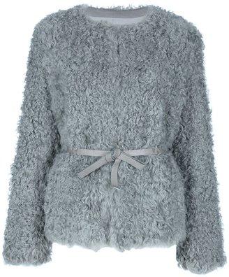 P.A.R.O.S.H. lamb fur jacket