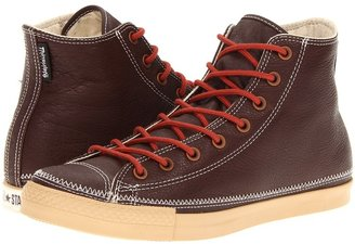 Converse Chuck Taylor All Star Gusset Tongue Hi (Chocolate) - Footwear