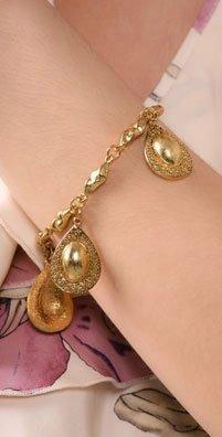 Rachel Leigh Cleo Teardrop Charm Bracelet