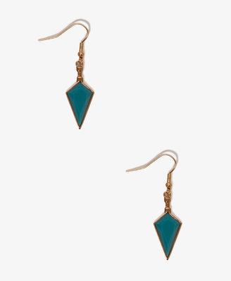 Forever 21 Faux Turquoise Dagger Earrings