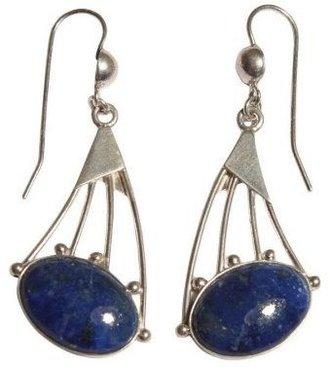 """Novica Artisan Crafted Sterling """"Darting Light""""Earrings"""