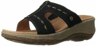 ACORN Women's Vista Slide Wedge Sandal $69.30 thestylecure.com