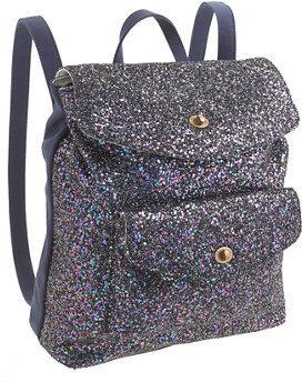J.Crew Girls' glitter backpack