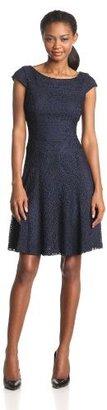 Anne Klein Women's Crochet Tennis Dress