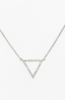 Women's Bony Levy 'Prism' Diamond Small Triangle Pendant Necklace (Nordstrom Exclusive) $595 thestylecure.com