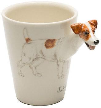 Gump's Porcelain Jack Russel Mug