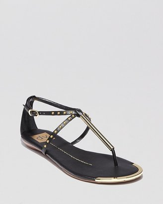 Dolce Vita DV Flat Thong Sandals - Apollo Studded
