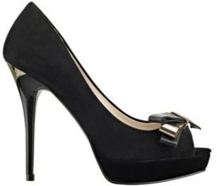 GUESS Tulle Platform Pump with Bow