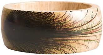Zads Zad Peacock Wood Bracelet