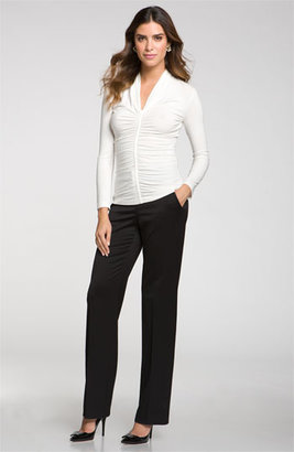St. John Stretch Venetian Wool Pants