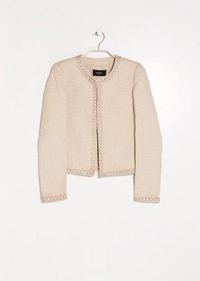 MANGO Outlet Beaded Textured Jacket