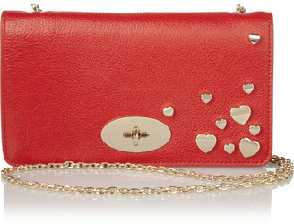 Mulberry Valentines Bayswater leather clutch