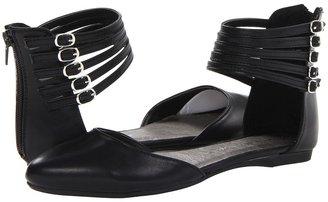 Chinese Laundry Blair (Black Kid Pu) - Footwear
