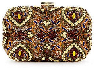 Kate Landry Embellished Box Clutch