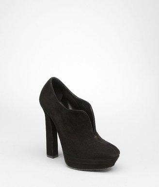 Bottega Veneta Nero suede ankle boot