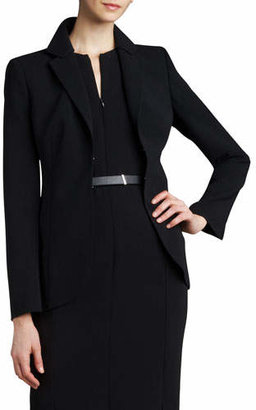 Akris Hook-and-Eye Jacket