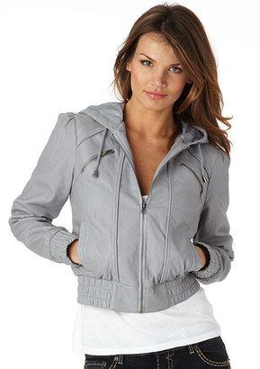 Alloy Hills Polo Hooded Bomber Jacket