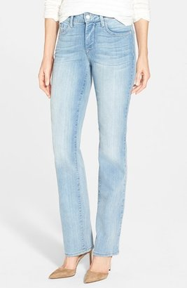 Women's Nydj 'Marilyn' Stretch Straight Leg Jeans $124 thestylecure.com