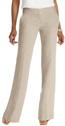 LOFT Julie Trouser Leg Pants in Linen