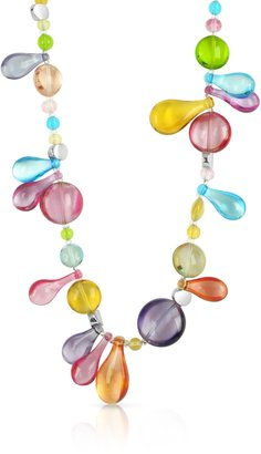 Antica Murrina Lapilli - Long Murano Glass Necklace $138 thestylecure.com
