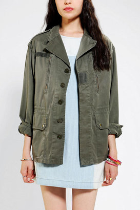 Urban Outfitters Urban Renewal Vintage French Combat Jacket