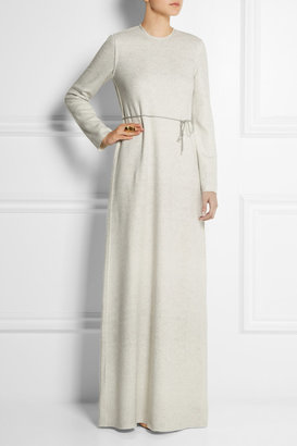 Calvin Klein Collection Wool and cashmere-blend maxi dress