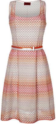Missoni Belted Knit Sheath Dress