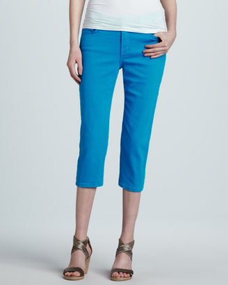 Not Your Daughter's Jeans Ariel Bling-Pocket Cropped Jeans, Poolside